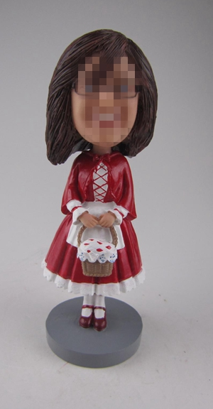 Custom flower girl gifts bobbleheads