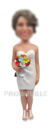 Personalized Bobbleheads - Bridesmaid