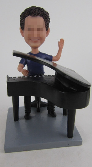 Custom Pianist bobbleheads