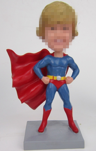 Custom Superman bobbleheads