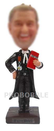 Gifts for Lawyer Judge Bobbleheads