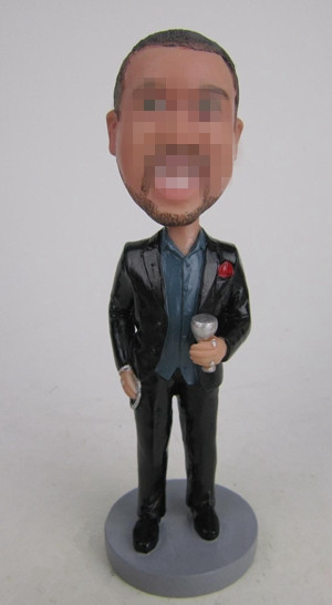 Custom Boss bobblehead