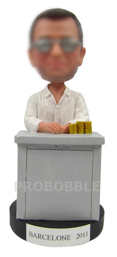 Personalized Bobbleheads Gambling