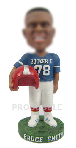 Football Star Bobbleheads Bruce Smith
