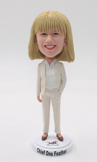Best gift for Boss-female bobblehead