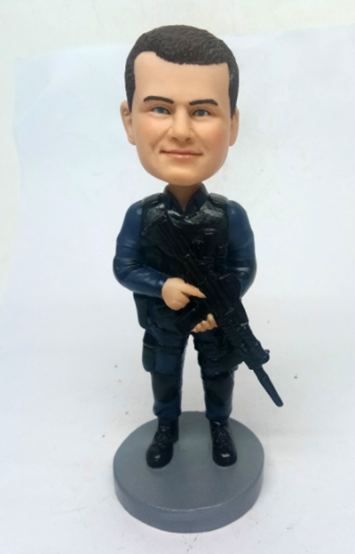 Custom Police Officer Bobbleheads