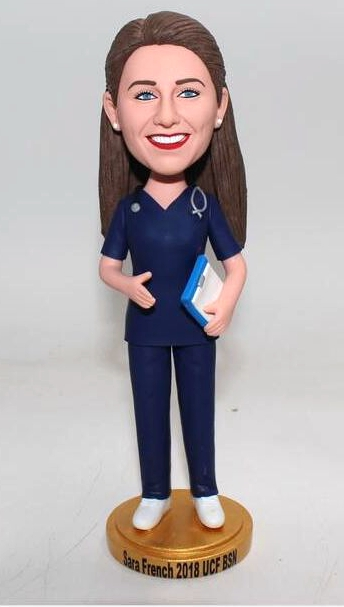 Nurse custom bobblehead