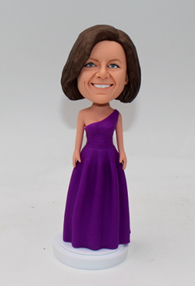 Personalised bobblehead-Bridesmaid