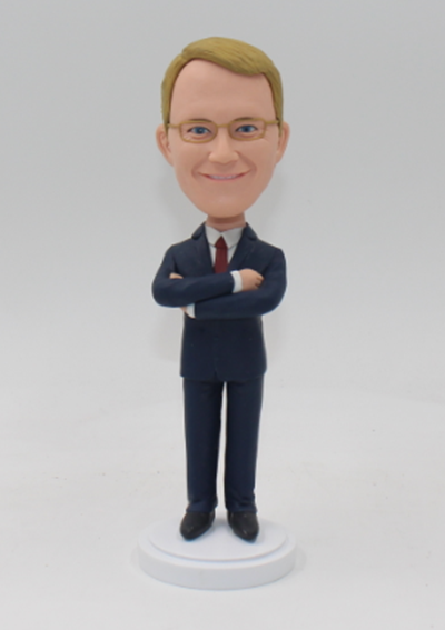 Personalized groomsman bobbleheads