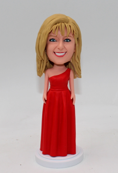 Personalized Wedding bobbleheads bridesmaids