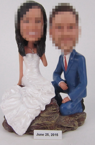 Gifts For Wedding Bride Groom Bobbleheads